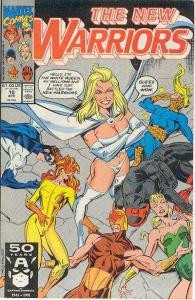 New Warriors (1990 series) #10, NM- (Stock photo)
