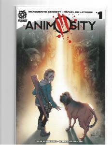 ANIMOSITY #1 - 3RD PRINT - NM/NM+ HTF PRINTING - HOT COMIC - AFTERSHOCK COMICS