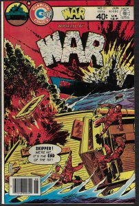 War #21 (Charlton, 1980) NM