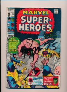Marvel Super-Heroes HULK DAREDEVIL X-MEN #25 GOOD/VERY GOOD (SRU562)