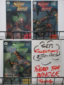 STARSHIP TROOPERS INSECT TOUCH (1997 DH)1-3 WarrenEllis