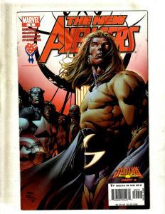 12 The New Avengers Marvel Comic Books #9 10 12 13 14 15 16 17 18 19 20 21 J397