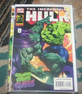 INCREDIBLE HULK  #432  aug 1995 marvel hulk vs   abomination GAMMA GIANTS CLASH