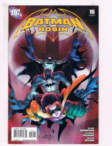 Batman & Robin # 16 NM 1st Print 2011 Series DC Comic book Joker Catwoman S58
