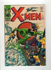 X-Men #21 F/VF 7.0 Dominus Roy Thomas & Dick Ayers