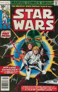Star Wars #1 FN; Marvel | save on shipping - details inside