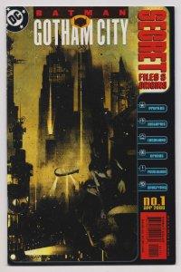 Batman: Gotham City Secret Files & Origins #1 (DC, 2000) VF