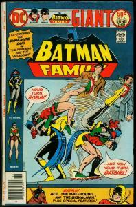 BATMAN FAMILY #5-1976-DC COMICS-BATGIRL-SIGNALMAN-ROBIN VG/FN