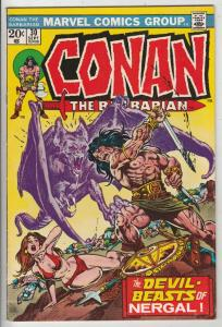 Conan the Barbarian #30 (Sep-73) VF+ High-Grade Conan the Barbarian