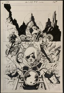 G.I. Joe #4 Cover IDW by Paul Gulacy Zartan and Dreadnoks!