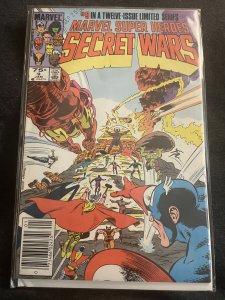 Marvel Super Heroes Secret Wars #9 (1985)