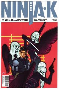 Ninjak #13 Cvr B (Valiant, 2018) NM