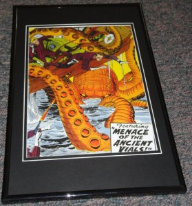 Showcase Comics #12 1958 DC Framed 9x12 Cover Poster Photo Jack Kirby JLA