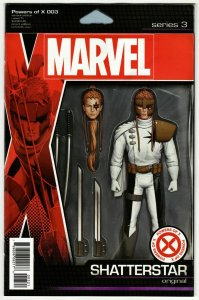 Powers Of X #3 Action Figure Variant Comic Book (Marvel, 2019) NM