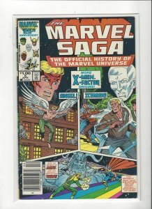 The Marvel Saga the Official History of the Marvel Universe #5 FN/VF