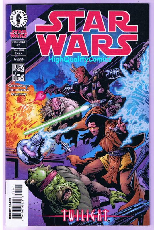 STAR WARS #20, NM+, Twilight, Rick Magyar, Ostrander, 1998, more SW in store