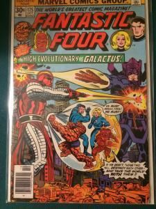Fantastic Four #175 The High Evolutionary vs Galactus!