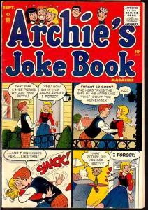 ARCHIE'S JOKE BOOK #18-BETTY AND VERONICA-1955-JUGHEAD FN