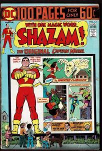Shazam! #13 (Jul-Aug 1974, DC) 6.0 FN