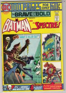 Brave and the Bold, The #116 (Jan-75) VF/NM High-Grade Batman, the Spectre