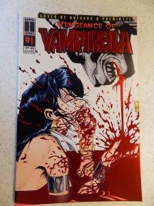 VENGEANCE OF VAMPIRELLA RED VARIANT # 1