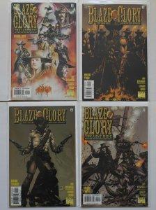 Blaze of Glory 1 - 4 The Last Ride Complete Set Marvel Comics 2000 Series NM