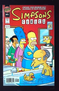 Simpsons Comics #91 (2004)