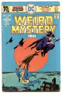 Weird Mystery Tales #23 1975-Wood- Mark Jewelers