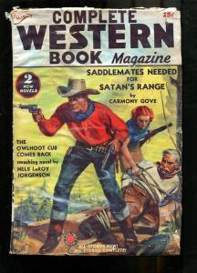 COMPLETE WESTERN PULP-1939-MARCH-CARMONY GOVE-GUNS! P/FR