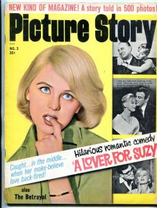 Picture Story Magazine #3 1963- Lover for Suzy- early graphic novel VG