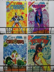 TALES OF THE NEW TEEN TITANS (1982 MINI) 1-4THE SET!