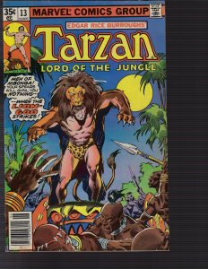 Tarzan #13 (Marvel, 1978) FN/VF