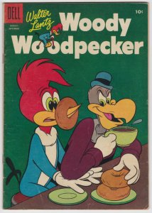 Woody Woodpecker #32 (Aug 1955) 5.0 VG/FN Dell