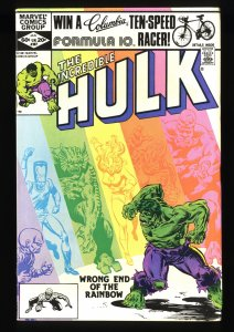 Incredible Hulk (1962) #267 VF 8.0