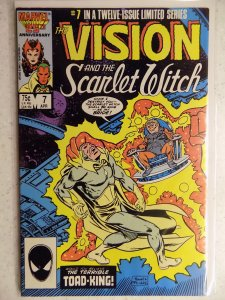 The Vision and the Scarlet Witch #7 (1986)