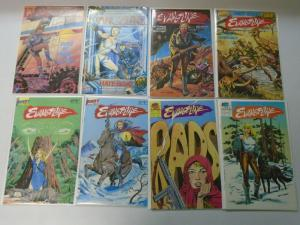 Evangeline comic lot 15 different issues 8.0 VF (1984-89)