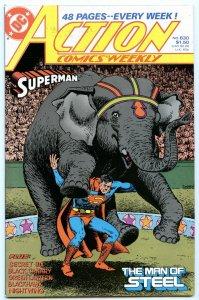 Action Comics Weekly 630 Dec 1988 NM- (9.2)