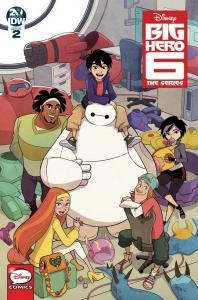 BIG HERO SIX (2018 IDW PUBLISHING) #2 PRESALE-05/29