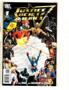 10 Justice Society Of America DC Comics # 1 2 3 5 6 7 8 9 10 Flash Superman MF15