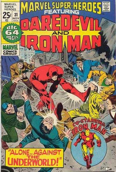 Marvel Super-Heroes (1967 series) #31, VG- (Stock photo)