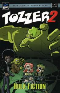Tozzer 2 #5 VF/NM; Ablaze | save on shipping - details inside