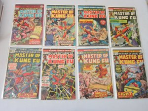 Master of Kung-Fu Comic Lot #26-60 25 Different Books 4.0 VG (1975-1978)