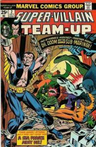 Super-Villain Team-Up #2, VF+ (Stock photo)