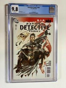 Detective Comics 850 Cgc 9.8 Wp Dc Comics