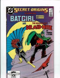 Lot Of 6 Secret Origins DC Comic Books # 19 20 21 22 23 24 Batman Flash J212