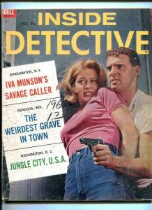 INSIDE DETECTIVE-DEC. 1962-SAVAGE CALLER-GRAVE-JUNGLE-KILL-MURDER-DEAD-DOO G