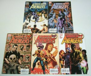 House of M: Avengers #1-5 FN/VF complete series - hawkeye - luke cage - punisher