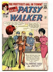 PATSY WALKER #118 1964- paper dolls- fashions- Marvel silver age FN