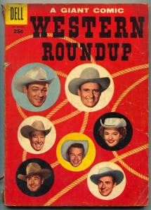 Western Roundup #13 1956- Gene Autry-Roy Rogers-Dale Evans VG