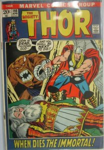 The Mighty Thor #198 - 3.5 VG- - 1972